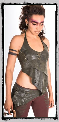 983b39b2466c Nature Leather Top This leather is divine! Not only super soft but also has  this gentle glittery effect.