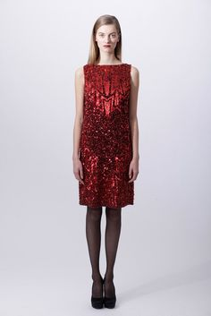 Badgley Mischka Pre-Fall 2012 Fashion Show - Iris van Berne