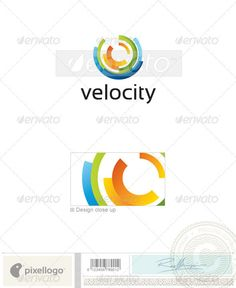 Abstract Logo - 2187 — Photoshop PSD #design #print • Available here → https://graphicriver.net/item/abstract-logo-2187/496697?ref=pxcr