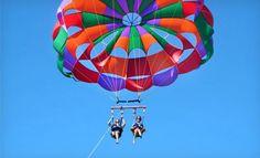 Groupon - $ 45 for a Super Parasail Flight from Sky Pirate Parasail ($ 90 Value). Groupon deal price: $45.00