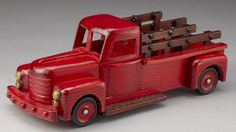 Antique-Styled Wooden Truck
