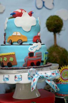 Airplanes, Trains and Automobiles Birthday Party Ideas | Photo 7 of 21 | Catch My Party