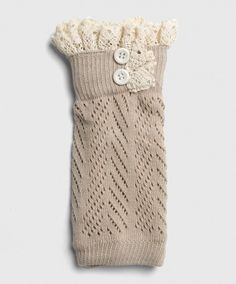 Who doesn't love lace boot cuffs!?