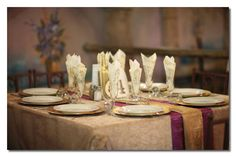 Our vintage glamour wedding  Gold/Purple/Mint Green
