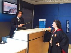 A Severus Snape look-alike has become the latest Internet sensation after American Airlines posted a photo of him this weekend -- see the pic! Funny Times, Funny People, Professor Severus Snape, Job Help, Harry Potter Films, Look Alike, New Job, Best Funny Pictures, I Movie