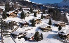 Grindelwald Chalet in der Schweizer Bergen