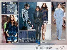 Jeans já se tornou tão clássico quanto azul marinho e preto. O Inverno veio cheio de produtos inspirados em suas cores, lavagens e texturas.