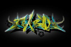 2007 t-shirt design for Tribal gear. Horizontal 3D Tribal by Misk1by far my favorite design