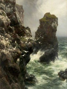 Peter Graham, Where Gannets Build, 1896