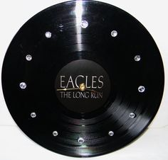 THE EAGLES The Long Run Inspired Vinyl Record by PandorasCreations, $25.00