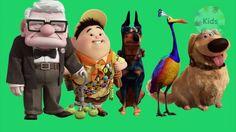disney pixar up finger family song | 3d nursery rhymes | kids finger fam...