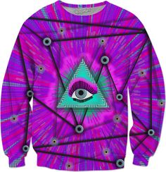Eyes in the sky! eye,make-up, purple, green, pink, planted, space, fantasy, sci-fi, science, fiction Space Fantasy, Eye Make Up, Science Fiction, Purple, Pink, Sci Fi, Men Casual, Sky, Shirt Dress