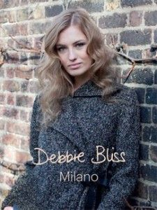The Crossover Jacket in Debbie Bliss Milano