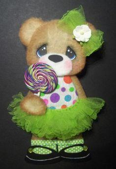ELITE4U Tear Bear Girl Sweet Tutu Paper Piecing Premade Scrapbook Card Album | eBay