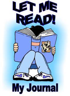 "Reading Journal is SPANISH in fun boy reading a big blue book design: ""Dejame Leer"" (Let me Read) 100 Days Of School, School Fun, School Teacher, Back To School, Reading Journals, School Signs, Blue Books, 100th Day, Teacher Appreciation"