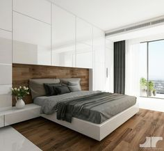 14 Trendy Bedroom Design and Decor Ideas for Your Next Makeover - The Trending House Fitted Bedroom Furniture, Fitted Bedrooms, Modern Master Bedroom, Modern Bedroom Design, Master Bedroom Design, Trendy Bedroom, Home Decor Bedroom, Master Suite, Contemporary Bedroom