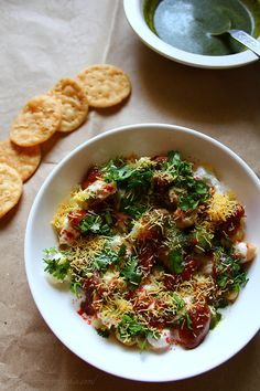 Papdi Chaat. Probably the best tasting street food dish in the world :)
