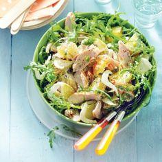 Aardappelsalade met gerookte kip, venkel en mayonaise. #JumboSupermarkten #salade #recept