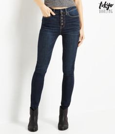 Tokyo Darling High-Waisted Jegging from Aeropostale