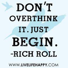 Words of wisdom from vegan ultramarathon runner Rich Roll.