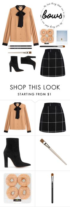 """""""Bows"""" by briesepb on Polyvore featuring Michael Kors, Gianvito Rossi, Polaroid and MAC Cosmetics"""