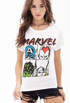 Marvel Avengers Tee. love this! i already have too many Thor/Marvel shirts though... lol