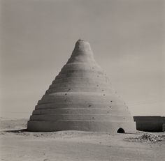 "poetryconcrete:  ""Ice house, photo by Lynn Davis, 2001, in Iran.  """