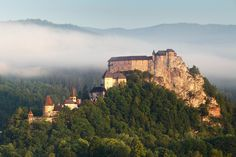 Orava castle is one of the most beautiful and largest castles in Slovakia and it is situated on a high rock above the Orava river. Visit Orava castle with time for slovakia Green Warriors, Big Country, Central Europe, Lonely Planet, Homeland, Czech Republic, Continents, Monument Valley, Mount Rushmore