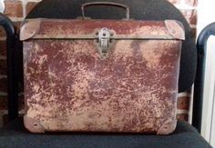 Antique Very Rare Suitcase by Rossant on Etsy