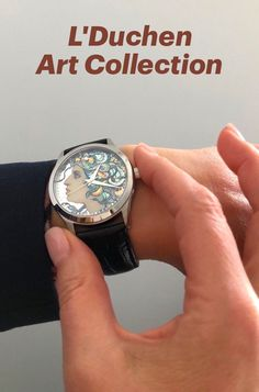 Swiss made quartz watches with one-of-a-kind dial, created in lacquered miniature technique — painting on gold or silver leaf. Medusa Gorgon, stainless steel case, 40 mm, sapphire crystal, genuine leather strap with folding clasp #swissmadewatches #uniquegift #originalgift #giftwithpersonalisation #medusagorgon #quartzwatches #handpainted #art Medusa Gorgon, Swiss Made Watches, Quartz Watches, Stainless Steel Case, Unique Gifts, Sapphire, Miniatures, Hand Painted, Crystals