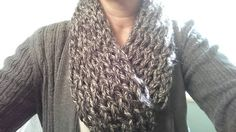 Check out this item in my Etsy shop https://www.etsy.com/listing/220808182/finger-knit-infinity-scarves
