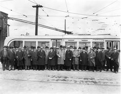 Inauguration of Beaubien Street trolleybus route. Old Pictures, Old Photos, Garage, Of Montreal, Still Standing, Far Away, Geography, Saints, The Past