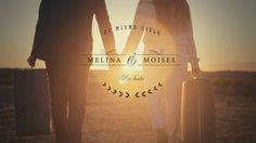 """Las Altas Cumbres con nieve, sol y un atardecer increíble!, """"El Mismo Cielo"""" narra brevemente la historia de amor entre Melina & Moises..... no dejen de verlo!"""