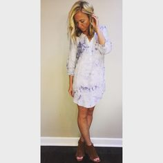 Sky Tie Dye Dress $44 M,L  Comment size & email OR Shop this look plus more www.masandford.com #masandford #stlboutique #stl #spring2016 #fashionblogger #ootd #onlineboutique #onlineshopping #affordable #freeshipping #sale #tiedye #stlblogger