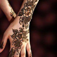 Arabic Mehndi Patterns 1