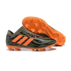 Wholesale Adidas Nemeziz Messi 17 360 Agility FG Soccer Cleats - Army Green/Black/Orange from Adidas Nemeziz 17 360 Agility FG Cheap Football Boots, Football Shoes, Soccer Shoes, Messi, Adidas Nemeziz, Cheap Soccer Cleats, Discount Adidas, Adidas Football, Boots Online