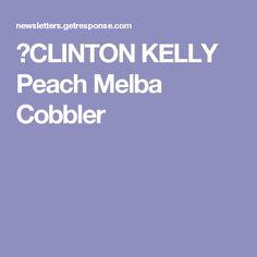 Peach Melba Cooler Recipe — Dishmaps