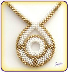 Mina smycken: Guld-vit RAW