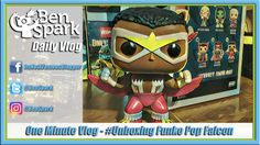 One Minute Vlog - #Unboxing Funko Pop Falcon  I try a little experiment and do a 1 minute vlog and #unboxing of a Funko Pop Falcon Figure. I was inspired to do a 1 minute video by Richard Aspden at https://www.youtube.com/watch?v=MUH2OV73KiU - He is doing a 1 minute challenge for a year. I'm not sure if I'm going to do this that often. Looking at the numbers of people watching the vlogs, they seem to cut out after 3 minutes. So I may try and do some more short form videos in the future.