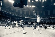 35 Years ago today Chicago Bull Legend Michael Jordan hit the shot.  North Carolina win the NCAA championship with the talents of soon to be LA Lakers James Worthy.  -dubStepHD