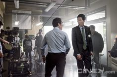"""Cine21 Goes Behind the Scenes of Jung Woo Sung & Jo in Sung's """"The King"""" 