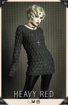 Gothic Shirts and tops by Gothic Clothing designer Ondine for Heavy Red Couture Noir. Goth to punk Victorian to Edwardian Steampunk Couture Gothic Fashion.