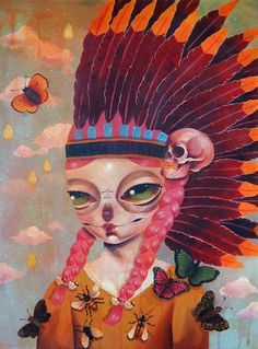 Daydreamers: solo exhibition by Motel7 at 34FineArt - B-Guided