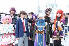 Re:Creators Comiket group cosplay
