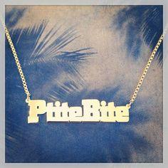 Collier PtiteBite de Felicie Aussi LittleDick Necklace by Felicie Aussi  Faut assumer...