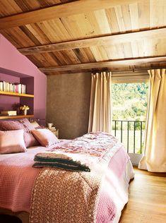 Una casa rústica con toques de estilo francés · ElMueble.com · Casas