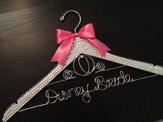 Disney BLING Wedding Hanger / Cinderella by GetHungUp