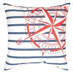 Nautical Flags Pillow