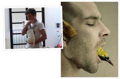 """Portrait de Julien Salaud sur Le Mot & la Chose. Julien Salaud est le premier lauréat de la résidence Ackerman + Fontevraud la Scène. Son oeuvre """"Fleuve céleste"""" sera exposé à partir du 3 avril 2015 dans les Caves de la Maison Ackerman"""