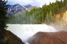 Thompson Falls - Golden, BC #photography